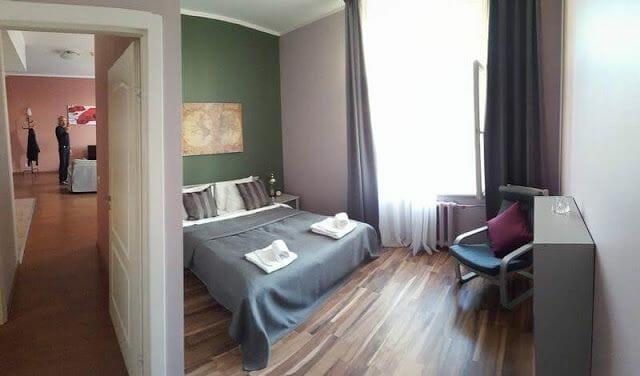 alojamiento en Riga Letonia