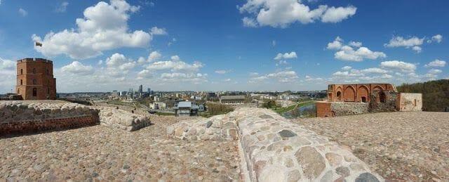 Castillo - Qué ver en Vilna en un día