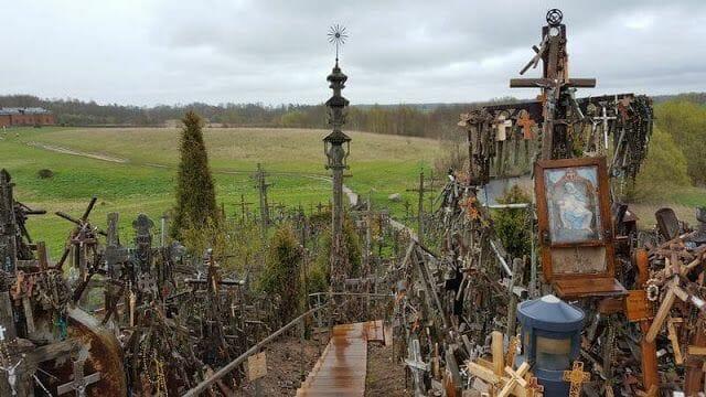 colina de las cruces, Lituania