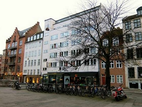 Copenhagen downtown hostel fachada edificio