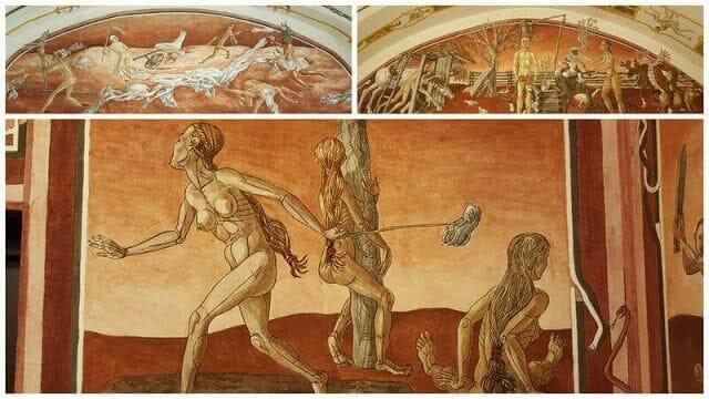 Frescos de la Iglesia de la Universidad de Vilna