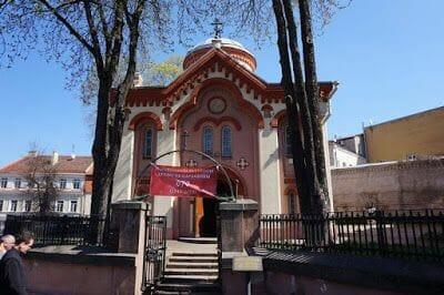 Iglesia ortodoxa de San Parasceve - que ver en Vilna