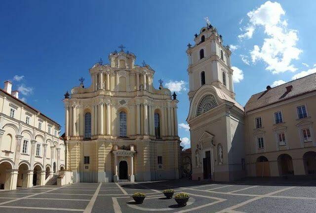 Iglesia de la Universidad - que ver en Vilna