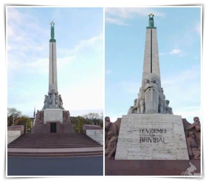 monumento a la libertad - qué ver en Riga