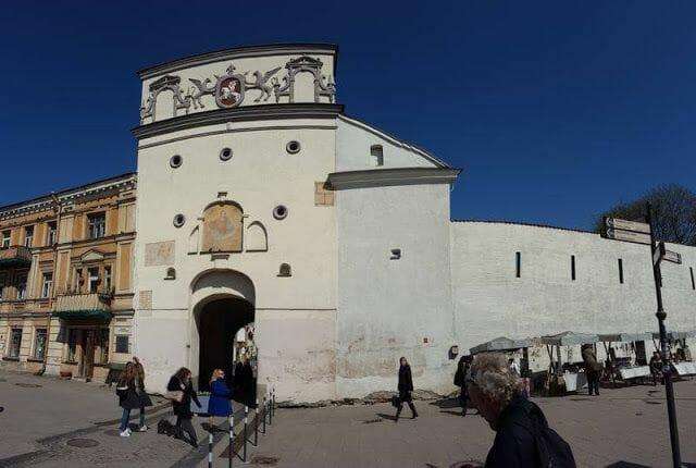 Puerta de la Aurora - que ver en Vilna