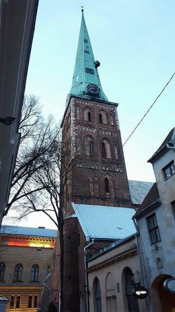 Iglesia de san jacobo de Riga