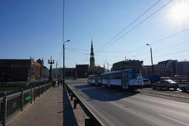 Puentes sobre el río Daugava