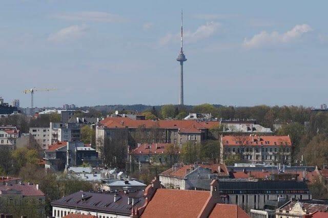 torre televisión de Vilna