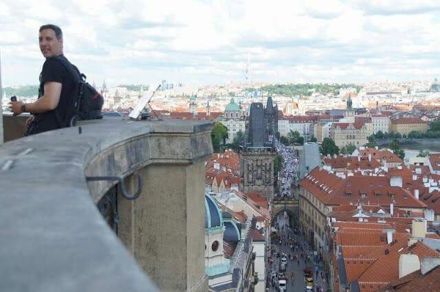 torre de la iglesia de san Nicolás Praga