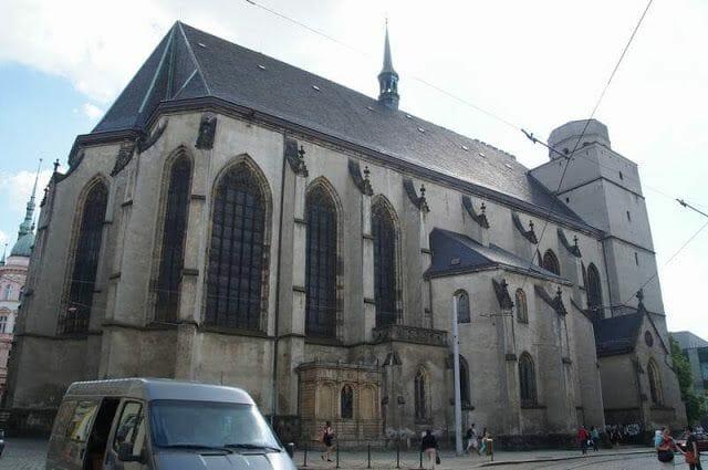 Iglesia de San Mauricio de Olomouc