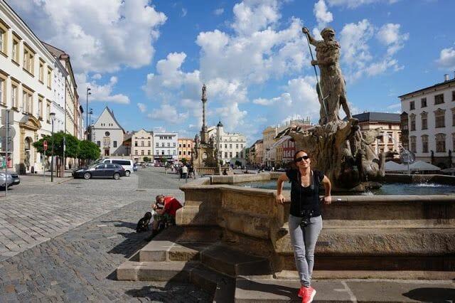 Fuente de Neptuno de Olomouc