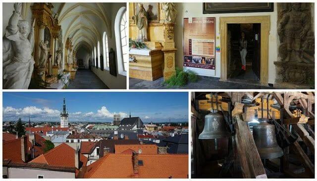 claustro de la Iglesia de San Miguel de Olomouc
