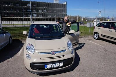 alquilar coche en Lituania