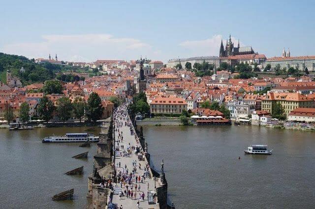 vista de Praga en qué ver en Praga en 3 días
