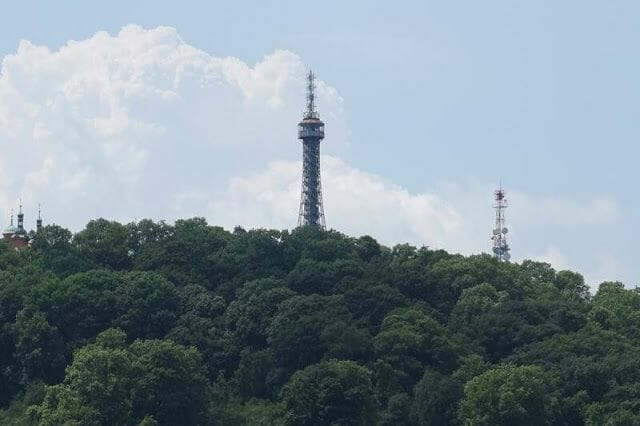 Torre de Petrindesde torre mala strana