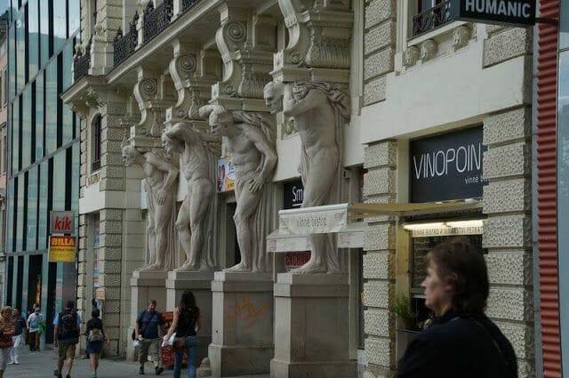 4 idiotas de Brno, Chequia