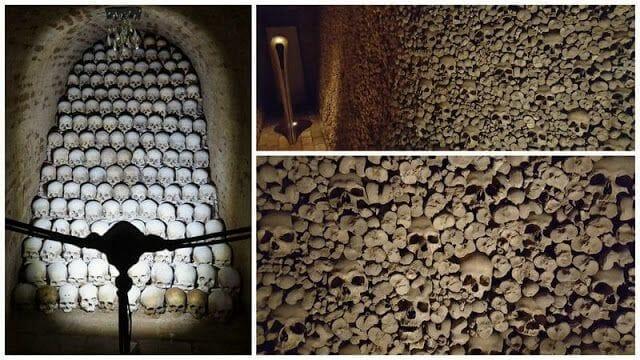 osario de esqueletos de Brno