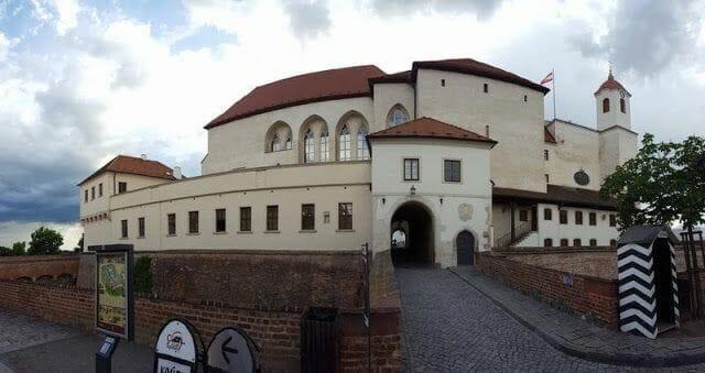 fortaleza de Spilberkn de brno