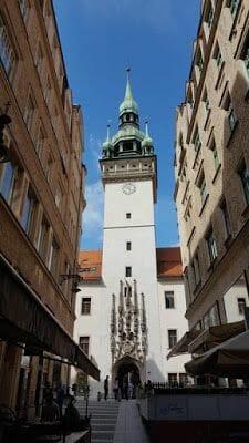 Torre del antiguo ayuntamiento brno