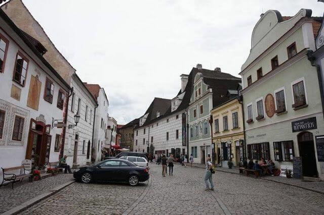 calle de Český Krumlov