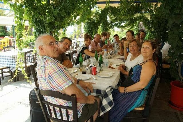 comer en Naxos