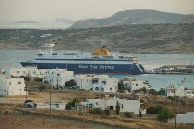 ferry de Naxos a Koufonisia