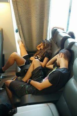 dormir en Ferry de Atenas a Naxos