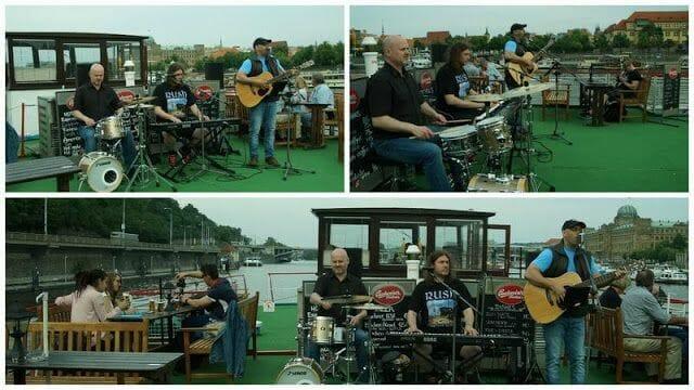 Paseo en barco en Praga con música