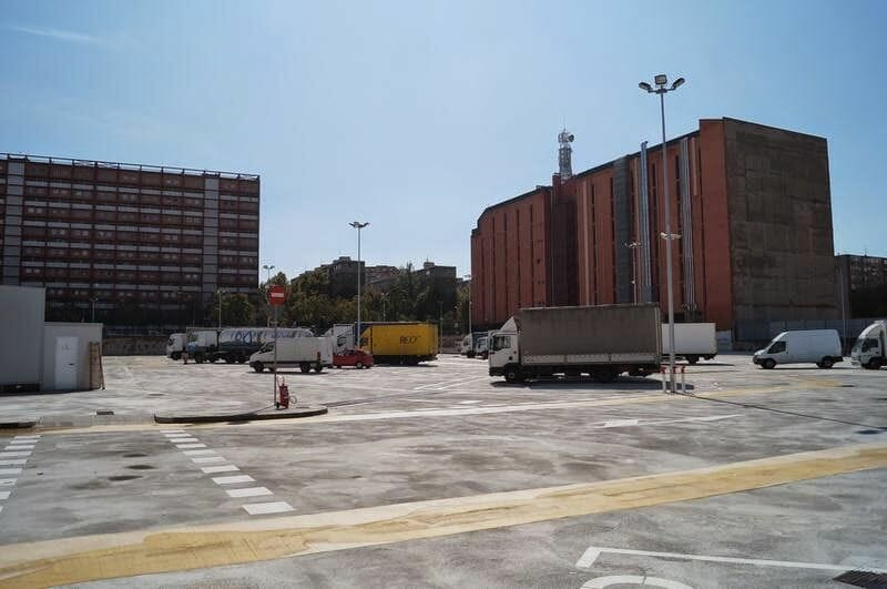 parking de camiones grandes de Barcelona