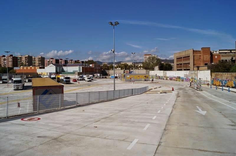 parking de autocaravanas de Barcelona
