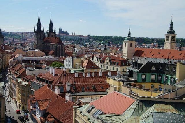 Torre de la Pólvora de Praga vistas