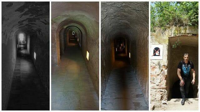red de túneles de terezin