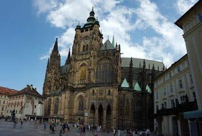 CATEDRAL DE SAN VITO castillo Praga