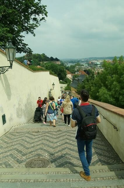 Bajada a Praga desde Torre Daliborka
