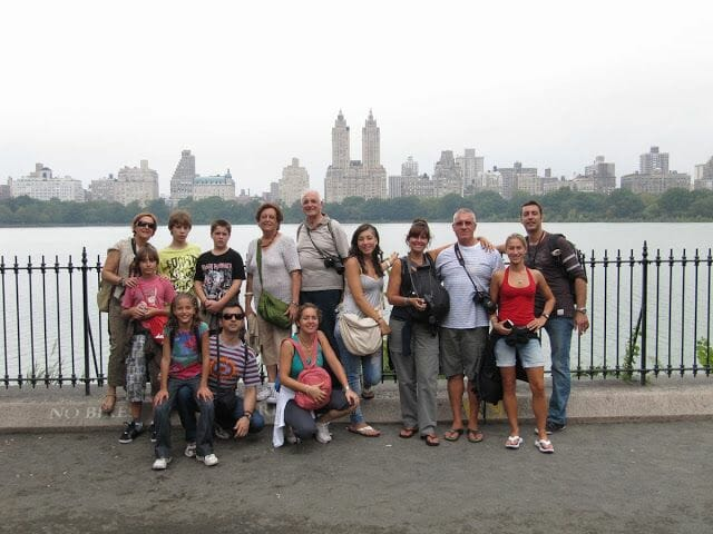 the reservoir Central Park