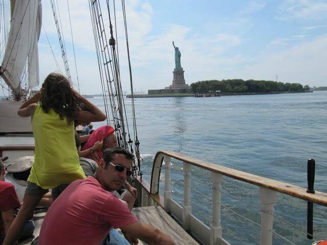 estatua libertad velero clipper