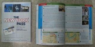 libro new york pass, new york pass book
