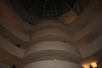 interior Guggenheim Nueva york NY