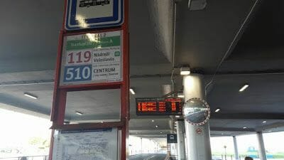 línea 510 buses praga