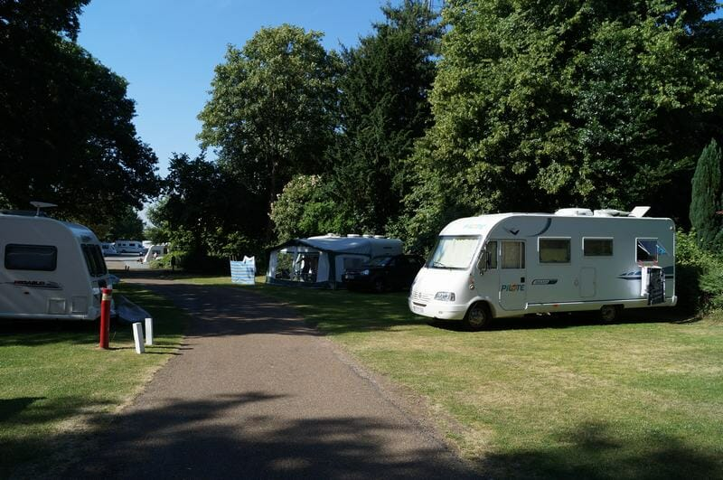 camping Crystal Palace Londres
