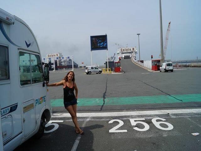 ferry de Calais a Dover