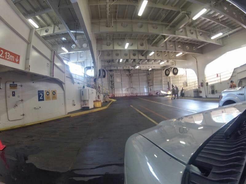ferry a Nanaimo en autocaravana
