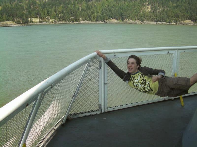 Cruzar en ferry a la isla de Vancouver