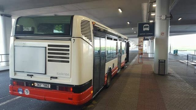 Airport Express de Praga bus