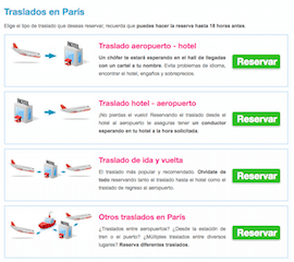 transfer privado aeropuerto charles de gaulle a paris