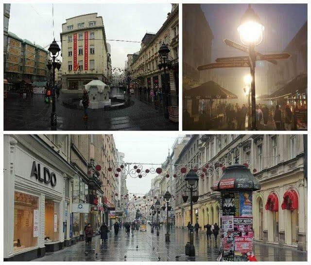 Calle Knez Mihailova de belgrado