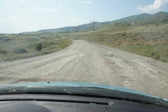 carreteras de Armenia