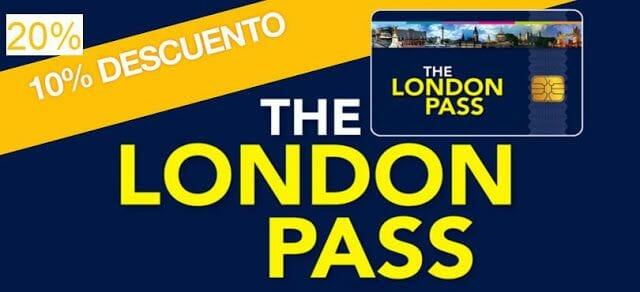 Códigos London Pass descuentos de hasta el 20%