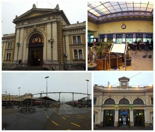 Estación de tren de Belgrado