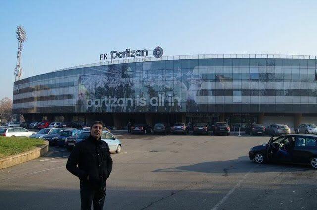 Estadio del Partizan de Belgrado